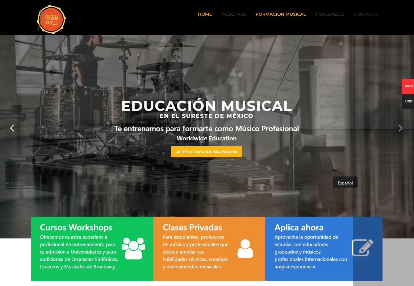 Percussion Coach Institute™ – Clases de Música y Producción Musical México Argentina