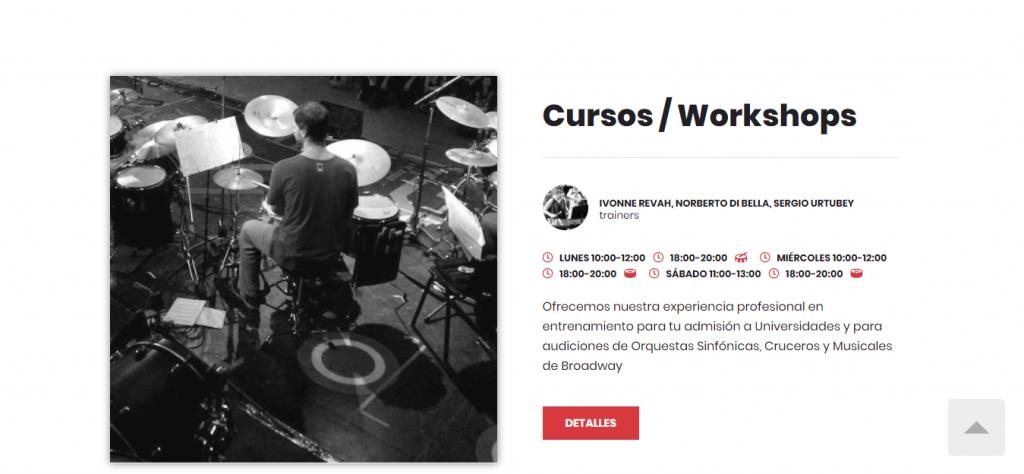 Cursos-Workshops – Percussion Coach Institute™